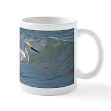 Snowy egret Small Mug