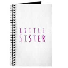 Little sister in pink Journal