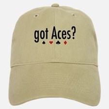 """Got Aces?"" Baseball Baseball Cap"