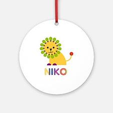 Niko Loves Lions Ornament (Round)