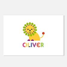 Oliver Loves Lions Postcards (Package of 8)