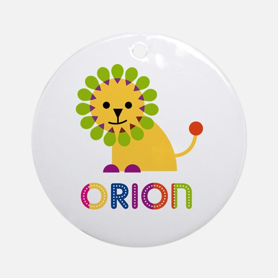 Orion Loves Lions Ornament (Round)