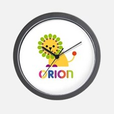 Orion Loves Lions Wall Clock