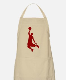 Basketball player Slam Dunk Silhouette Apron