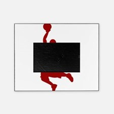 Basketball player Slam Dunk Silhouette Picture Frame