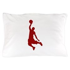 Basketball player Slam Dunk Silhouette Pillow Case