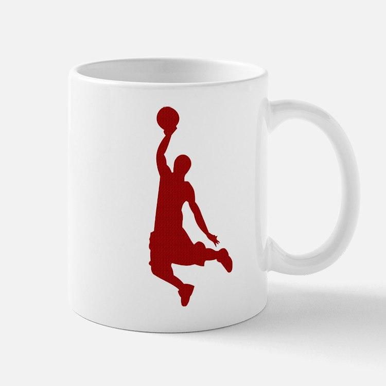 Basketball player Slam Dunk Silhouette Mug