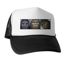 Bigfoot Collage Trucker Hat