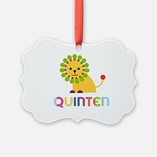 Quinten Loves Lions Ornament