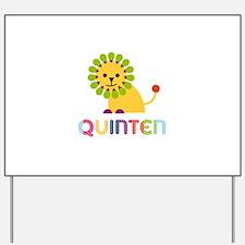 Quinten Loves Lions Yard Sign