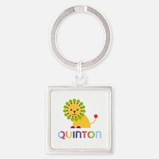Quinton Loves Lions Keychains