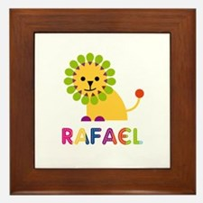 Rafael Loves Lions Framed Tile