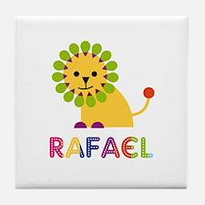 Rafael Loves Lions Tile Coaster