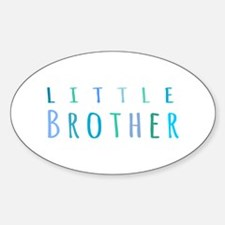 Little Brother in blue Decal