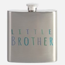 Little Brother in blue Flask