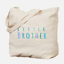 Little Brother in blue Tote Bag