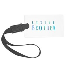 Little Brother in blue Luggage Tag