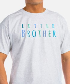 Little Brother in blue T-Shirt