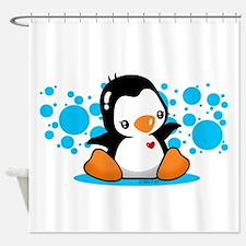 Penguin (B) Shower Curtain