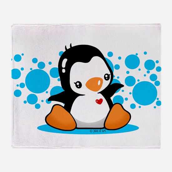 Penguin (B) Throw Blanket