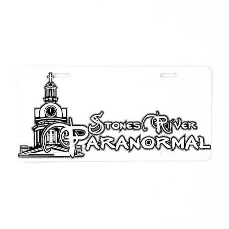 StonesRiverParanormal Aluminum License Plate