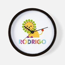Rodrigo Loves Lions Wall Clock