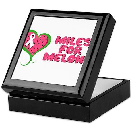 Miles for Melons Keepsake Box