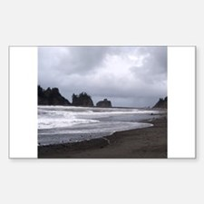 First Beach at LaPush Washing Decal