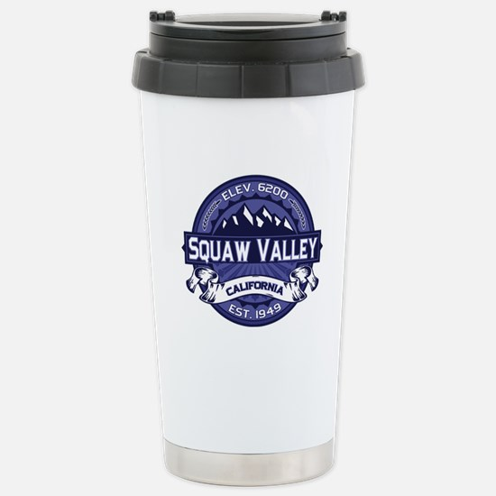Squaw Valley Midnight Stainless Steel Travel Mug