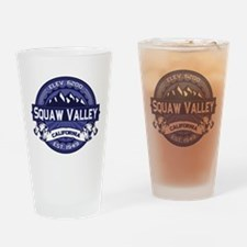 Squaw Valley Midnight Drinking Glass