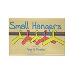 Small Hangers Logo Rectangle Magnet