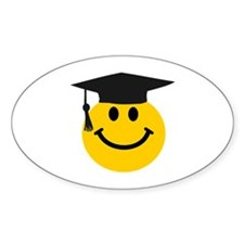 Graduate smiley face Decal