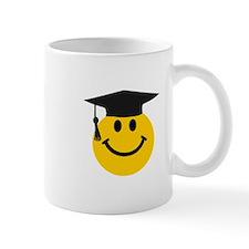 Graduate smiley face Small Mug