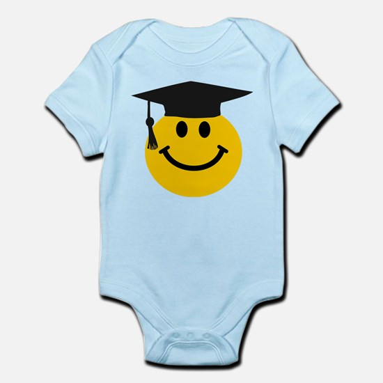Graduate smiley face Body Suit