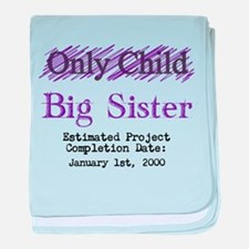 Only Child - Big Sister - Personalized! baby blank