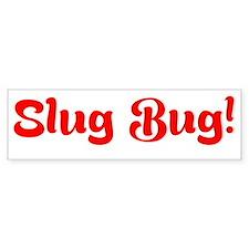 Slug Bug Bumper Bumper Sticker Bumper Bumper Sticker