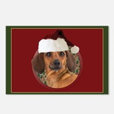 Merry Dachshund Postcards (Package of 8)
