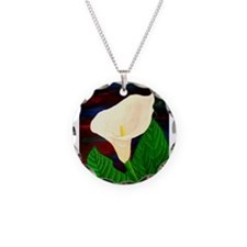 Calla Lilly Necklace