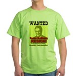 Wanted Reese McKinney Resigna Green T-Shirt