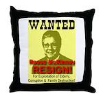 Wanted Reese McKinney Resigna Throw Pillow