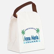 Anna Maria Island-Happy Place Canvas Lunch Bag