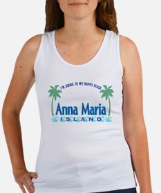 Anna Maria Island-Happy Place Women's Tank Top