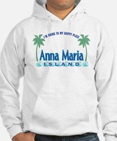 Anna Maria Island-Happy Place Hoodie