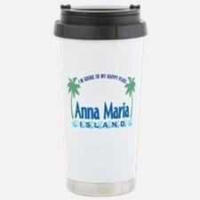 Anna Maria Island-Happy Place Stainless Steel Trav