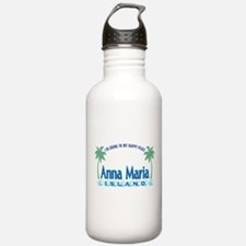 Anna Maria Island-Happy Place Water Bottle