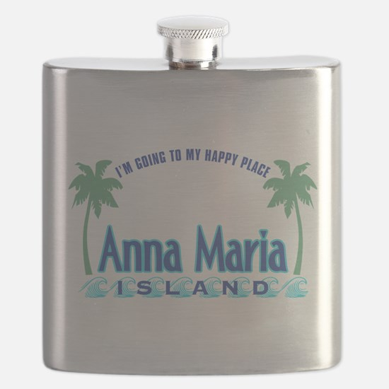 Anna Maria Island-Happy Place Flask