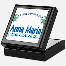 Anna Maria Island-Happy Place Keepsake Box