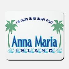 Anna Maria Island-Happy Place Mousepad
