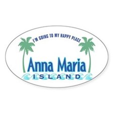 Anna Maria Island-Happy Place Decal
