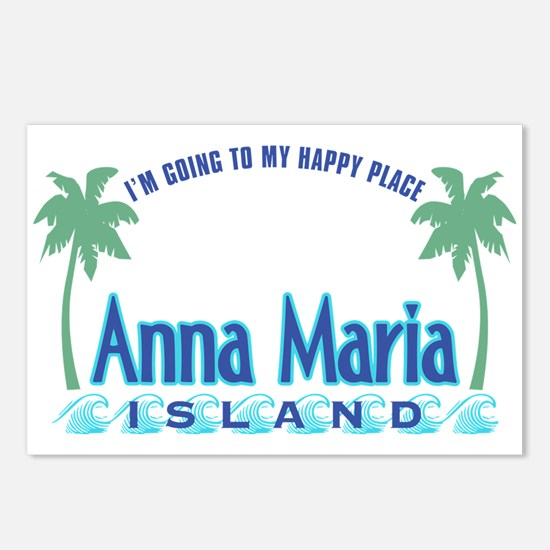 Anna Maria Island-Happy Place Postcards (Package o